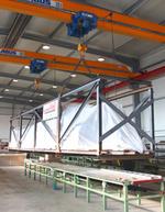 germanWell Wellenkantengurt für die Senkrechtförderung hergestellt durch die germanBelt GmbH