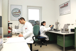 Modernization of the company-owned materials testing laboratory