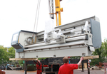 New machines for the production of conveyor belt pulleys on site Cottbus