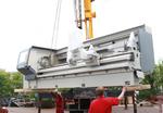 Neue Fertigungsmaschinen für die Produktion von Förderbandtrommeln am Standort Cottbus