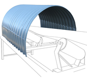 Hoods for Conveyor Belt Systems