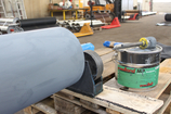 germanBelt® Conveyor belt pulley in production