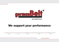 germanBelt® - Company Presentation
