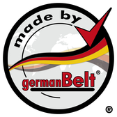 "germanBelt® - Seal Of Quality ""made by germanBelt"""