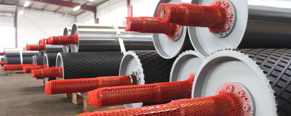 germanBelt® - Pulleys for Conveyor Belt Systems